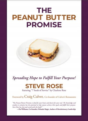 "Eden native Steve Rose's new book, ""The Peanut Butter Promise,"" is available for pre-order in mid-December."