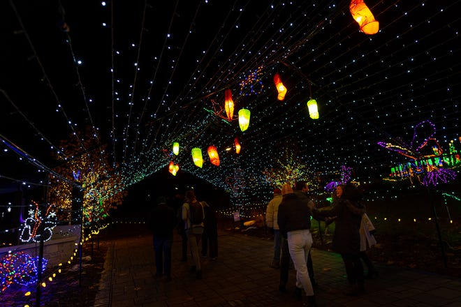 WPS Garden of Lights will open for its 24th season at Green Bay Botanical Garden on Nov. 27 with 300,000-plus lights and new safety protocols
