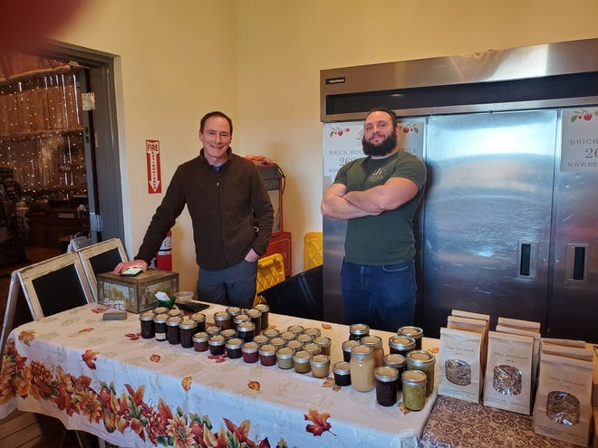 Joseph and Jeremy Bahr launched Brick House Mercantile from their old brick farmhouse in Oconomowoc.
