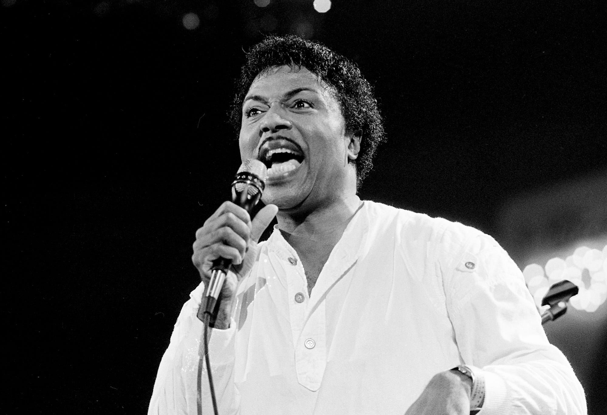 Little Richard, pictured in 1985.