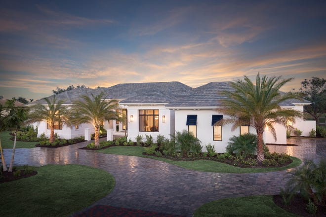 Stock Development's luxury custom homebuilding division, received a total of five awards for their Calista model in Quail West .
