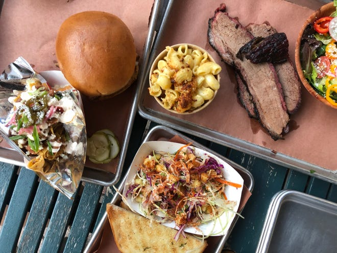 Industry Beer & Barbeque at Bayfront in Naples serves house-smoked meats and creative sides.
