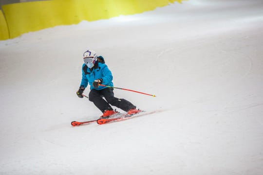 Skiers and riders have been enjoying the Big SNOW American Dream indoor snow park at the Meadowlands since it reopened in September.