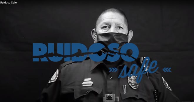 Ruidoso Safe's new Public Service Announcement asks residents and visitors to wear a face mask to help stem the spread of COVID-19.
