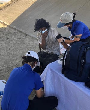 The Street Medicine team provides care to homeless and underserved people in the Coachella Valley.