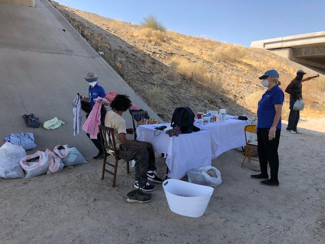 The Street Medicine team provides health care services to the homeless and unsheltered populations in the Coachella Valley.