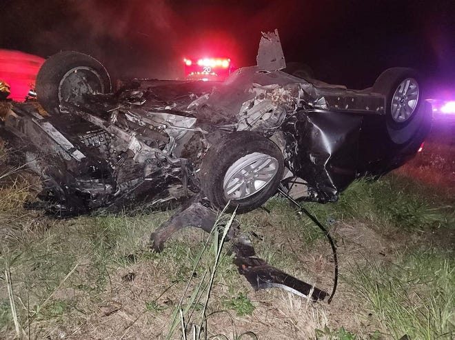 Navarre resident Karisa Dunphy suffered two broken legs and a broken arm, among other injuries, when she was involved in a one-vehicle, interstate car crash in Gainesville on Oct. 16. Dunphy was a passenger in the vehicle.