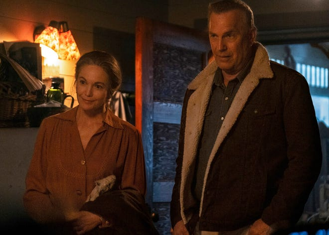 """Diane Lane, left, and Kevin Costner star in """"Let Him Go."""" The movie opens Friday at Queensgate Movies 13 and Hanover Movies 16."""