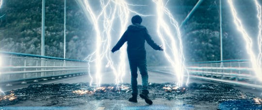 "Nat Wolff brings lightning as a mysterious young man with god-like powers in ""Mortal."""