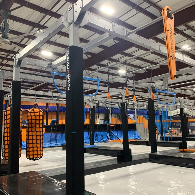 Play: CBUS is an indoor adventure park with climbing walls, ninja courses, zip lining and many other attractions, opens November 6.