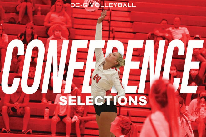 Haylee Hidlebaugh, one of six All-Conference selections for DCG volleyball in 2020