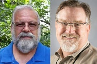 Roger Eckert and Jim Connell were elected Tuesday to the Lake Helen City Commission.