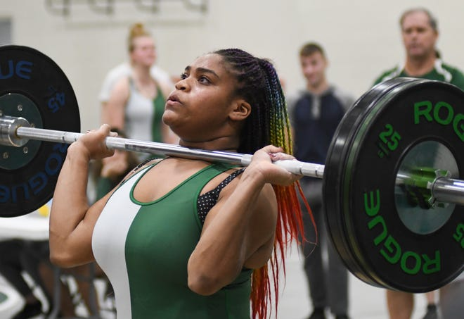 Flagler Palm Coast's Anniel Buchanan placed third in each of her two prior appearances at the FHSAA girls weightlifting championships.