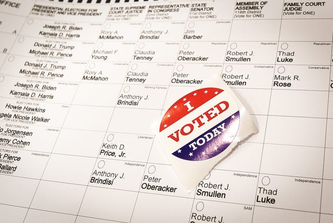 One trustee position is on the ballot in Tuesday's village election in Mohawk.