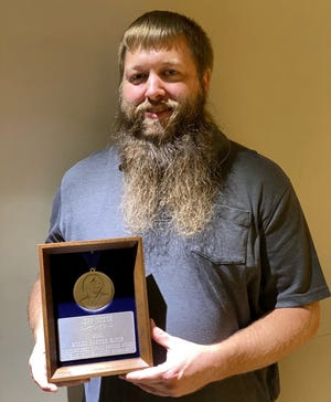 Jeff Witte, a network systems engineer in the city of Independence's tech services division, is this year's recipient of the Susan Paxton Block Award for Distinguished Public Service.