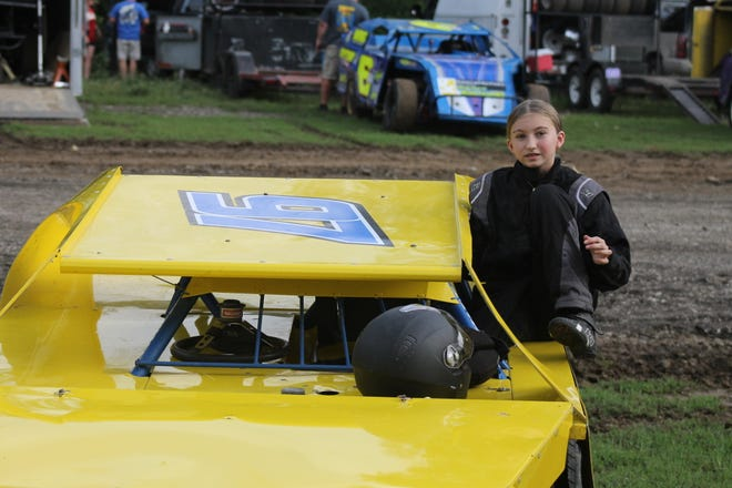 Ashlyn Piburn made a splash at Valley Speedway in Grain Valley this season, finishing 11th in the E-Mod division as a 13-year-old rookie driver. Her late mother and father have both been race car drivers.