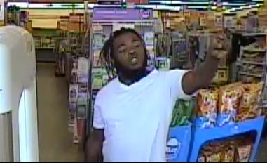 Lubbock police detectives believe this man caught by a central Lubbock dollar store's security cameras attacked an employee with a metal bar in July.