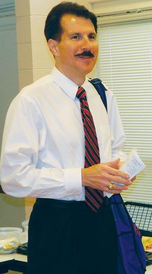 Election Commissioner Mark Stephens
