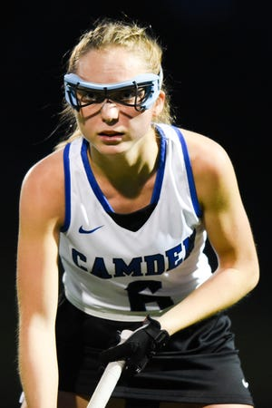 Camden field hockey senior Mackenzie Mix recently became the program's all-time leader in goals and assists.