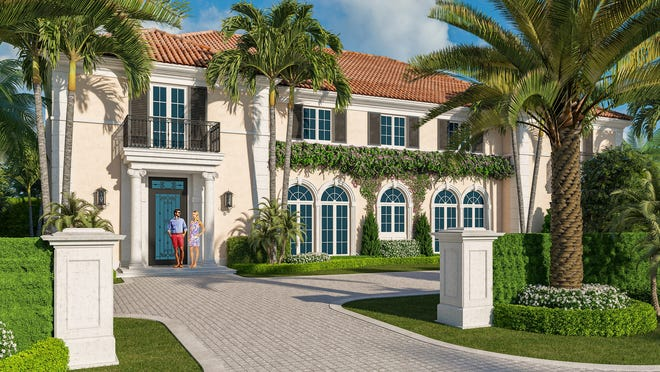 """Addison Development Group plans to build on speculation this five-bedroom house at 171 Via Bellaria in the Estate Section. The house has a """"pre-construction"""" price of $16.9 million."""