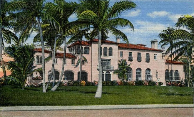 El Mirasol, Addison Mizner's first private commission and the estate of the Stotesbury family, was demolished in 1959.