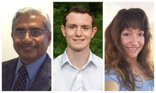 Incumbent state Rep. Aboul Khan, Tim Baxter and Tina Harley were elected Tuesday to represent Hampton Falls and Seabrook in the NH House.