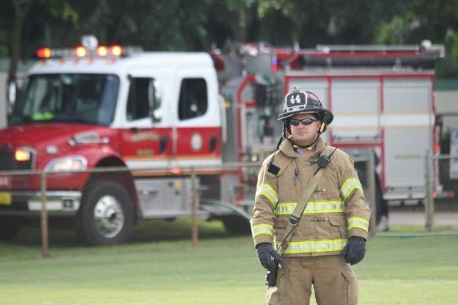 Palm Beach County Fire Rescue Capt. James Gilliard died on Monday, Nov. 2, 2020, in Palm Beach Gardens.