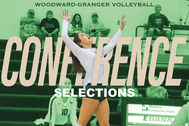 Elly Polich is one of five Woodward-Granger volleyball players named to the West Central all-conference team.
