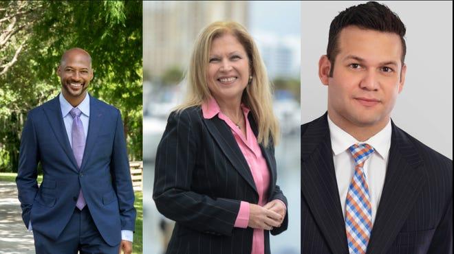 City Commission Candidates Kyle Battie, Liz Alpert and Erik Arroyo have won their respective city commission races.