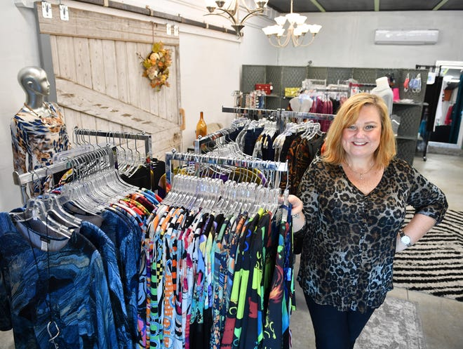 Lisa Charnicharo has opened Eyecatcher by P.J's Boutique, a new 1,000 square-foot storefront at The Bazaar on Apricot & Lime at 821 Apricot Ave. in Sarasota.
