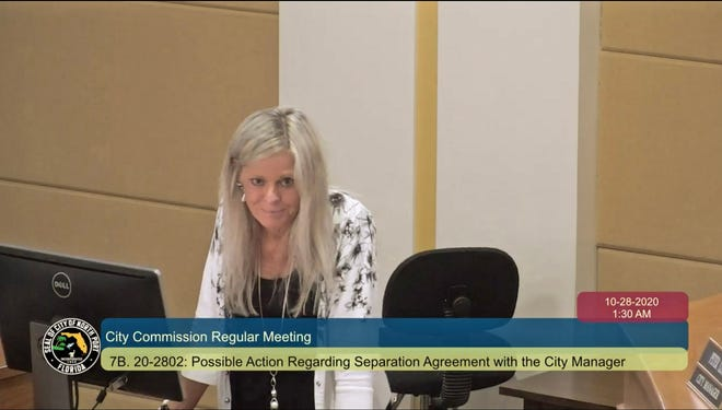 The North Port City Commission will discuss compensation for Acting City Manager Julie Bellia at a special meeting Thursday.