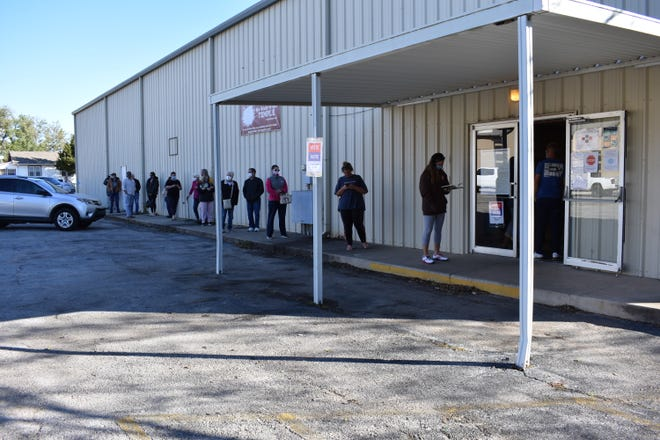 Shawnee voters go to the polls Tuesday as local- through national-level races were being decided.