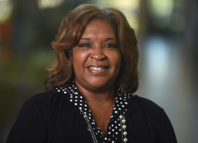 Linda Thompson, chief of the county's newly established Office of Diversity and Equity, at the New Hanover County Government Office in Wilmington, N.C., Tuesday, October 6, 2020. Thompson was the longtime public information officer with the Wilmington Police Department.