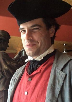 Actor Daniel Berger Jones portrays John Hancock.