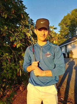 Lunenburg's Gavin Cloutier won the Pod 7 Individual Golf Championship on Wednesday at Northern Spy Golf Club in Townsend.