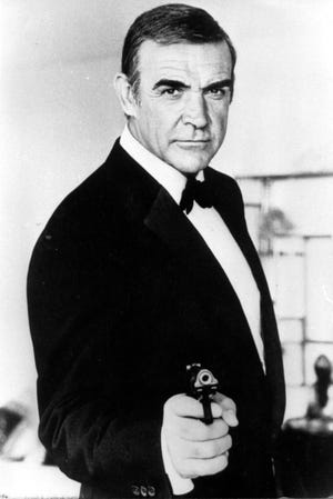 """Sean Connery as James Bond in """"Never Say Never Again."""""""