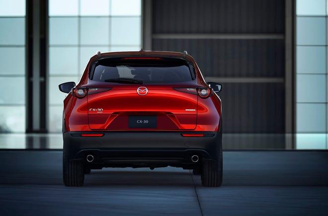 The 2020 Mazda CX-30. [Mazda/TNS]