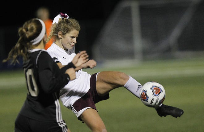 Senior midfielder Katie Schiano was first-team all-district and all-league for the Columbus Academy girls soccer team, which lost to Cincinnati Country Day in a Division III state semifinal for the second year in a row.