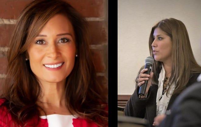 23rd State Senate candidates Rosilicie Ochoa Bogh (left) and Abigail Medina.