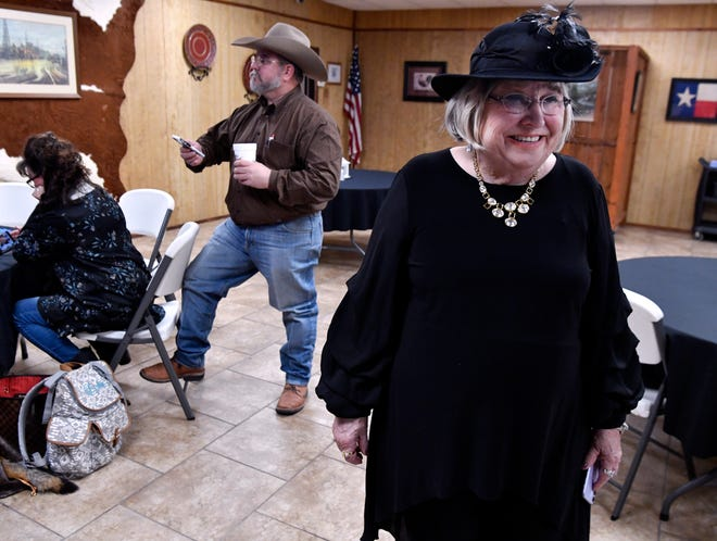 Abilene City Council Place 3 incumbent Donna Albus awaits Tuesday's election returns.