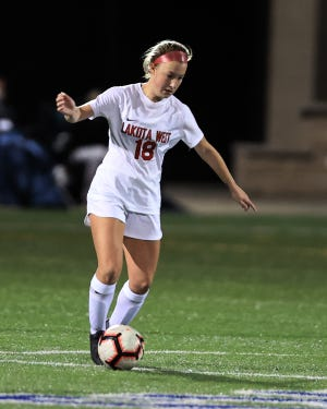 Midfielder Gracie West and the Lakota West girls soccer team saw their dreams of defending their Division I state soccer championship  come up short Saturday with a 2-0 loss to Centerville.