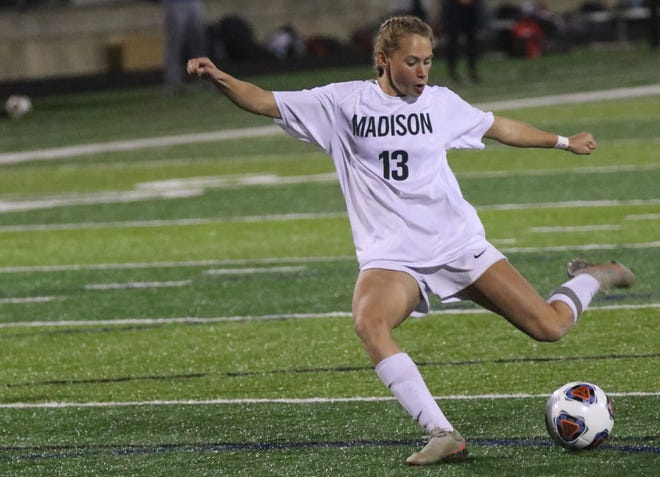 Madison's Taylor Huff has one thing left to add to her legacy, a state championship.