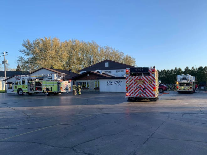 Western Lakes Fire District responded to a structure fire Nov. 1 at Schwefel's in Oconomowoc.