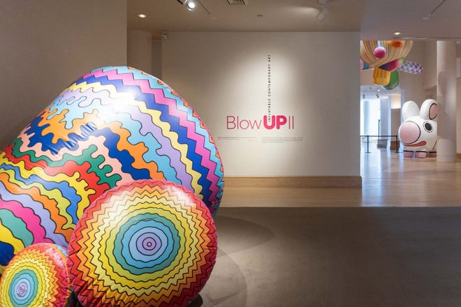 The new exhibit Blow UP II: Inflatable Contemporary Art, is on exhibit at the Montgomery Museum of Fine Arts through Jan. 31, 2021.