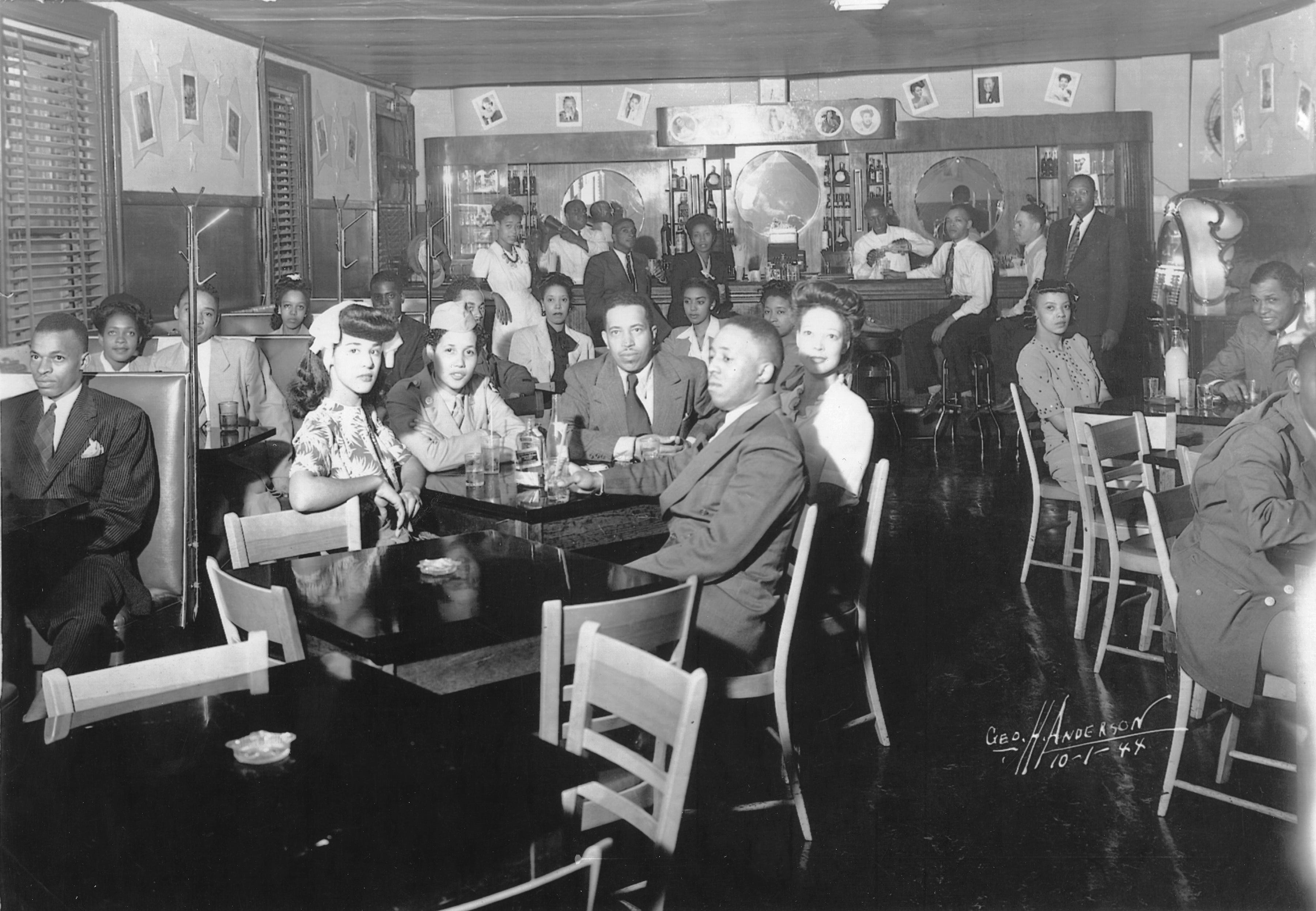 Club Del Morocco, Jefferson Street, Nashville, 1944.