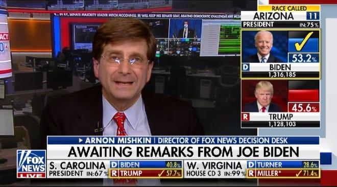 Arnon Mishkin, the director of the Fox News decision desk, talks about making the call for Joe Biden in Arizona.