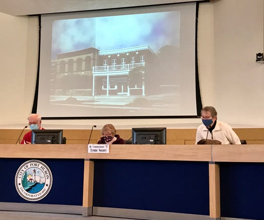 The Port Huron Historic District Commission unanimously signed off on plans to demolish the building at 1110 Military St. and build a bigger one in Port Huron on Nov. 3, 2020.