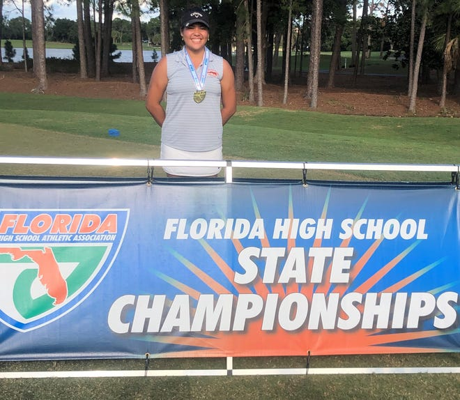 Lincoln Park Academy junior Angelical Holman captured the FHSAA 1A Girls Golf State Championship with a two-day total of 6-under par at the Las Colinas Course at the Mission Inn Resort.
