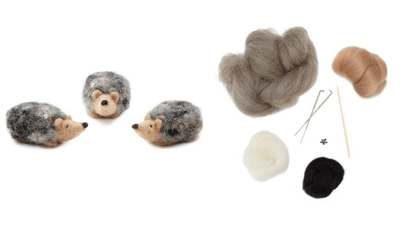 Best DIY gifts: Hedgehog Needle Felting Kit