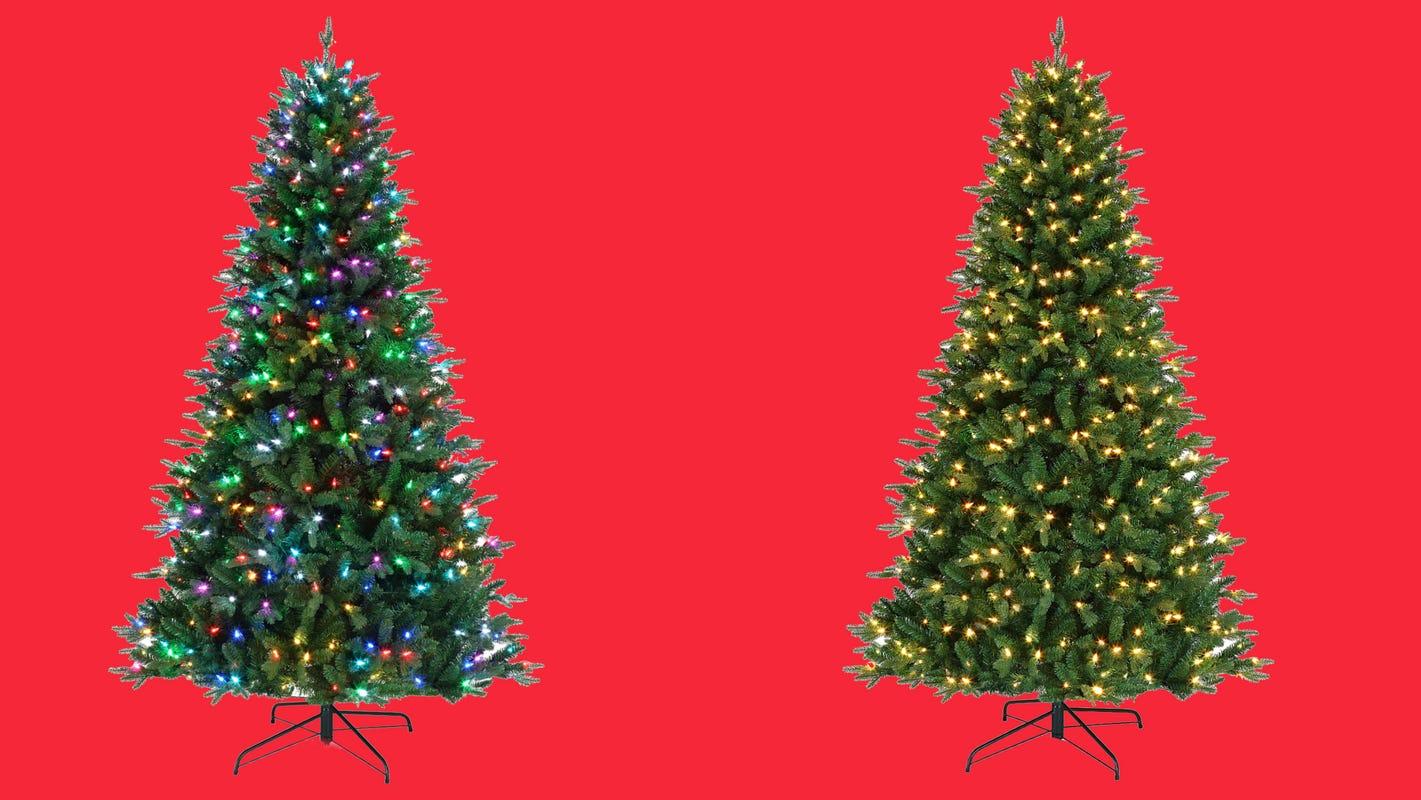 Artificial Christmas Trees Save 200 On The Pre Lit Mr Christmas Tree